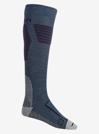Burton Ultralight Wool Sock shown in Larkspur