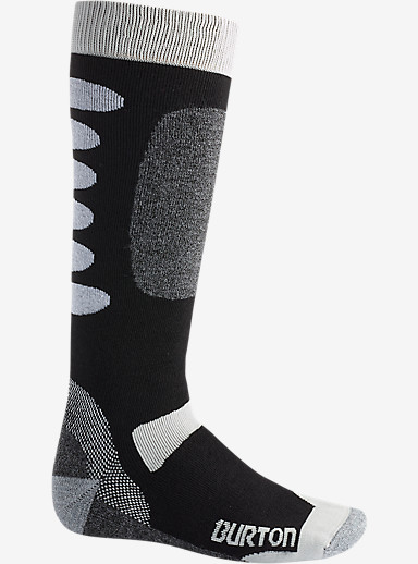 Burton Buffer II Snowboard Sock shown in True Black