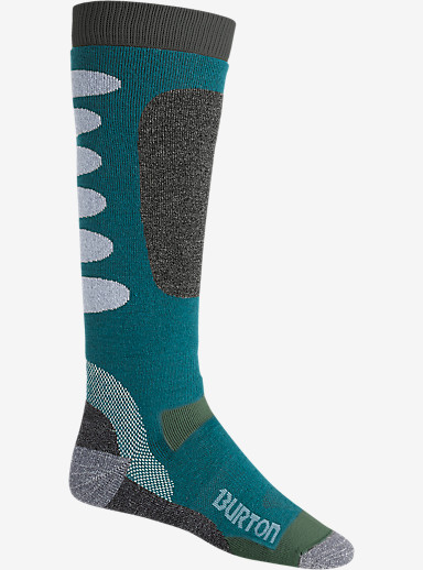 Burton Buffer II Snowboard Sock shown in Pipeline