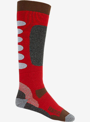 Burton Buffer II Snowboard Sock shown in Burner