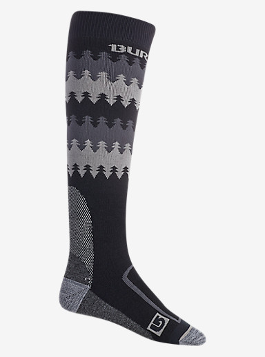 Burton Buffer II Sock shown in True Black