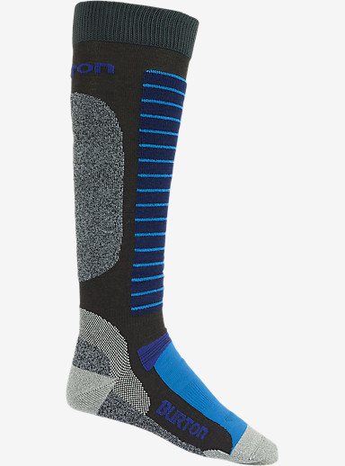 Burton Merino Phase Snowboard Sock shown in Faded