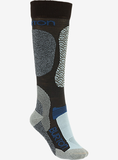 Burton Women's Merino Phase Snowboard Sock shown in Holbrook