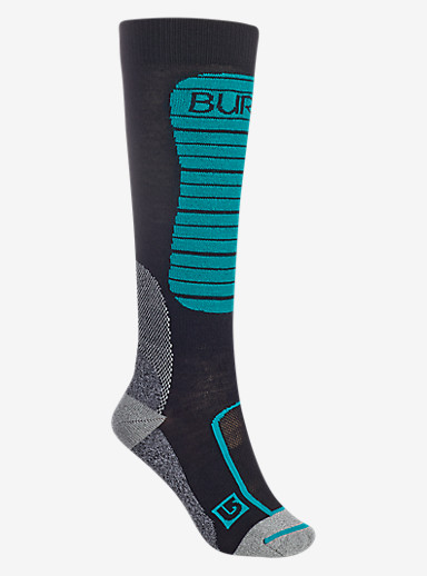 Burton Merino Phase Sock shown in True Black