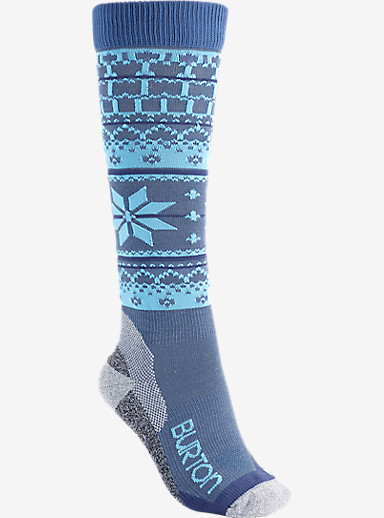 Burton Women's Ultralight Wool Snowboard Sock shown in Dusk