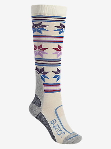 Burton Women's Ultralight Wool Sock shown in Canvas