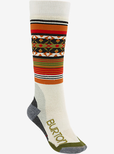 Burton Trillium Snowboard Sock shown in Canvas