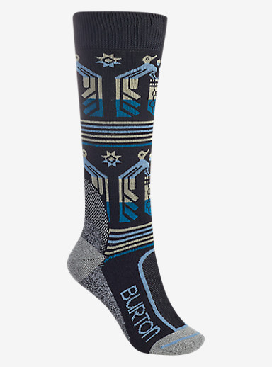 Burton Trillium Sock shown in True Black