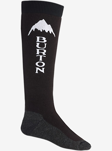 Burton Emblem Snowboard Sock shown in True Black