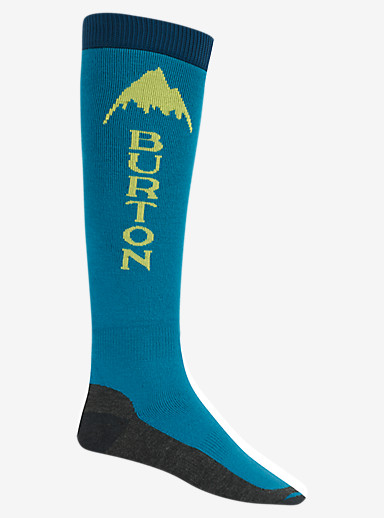 Burton Emblem Snowboard Sock shown in Pipeline