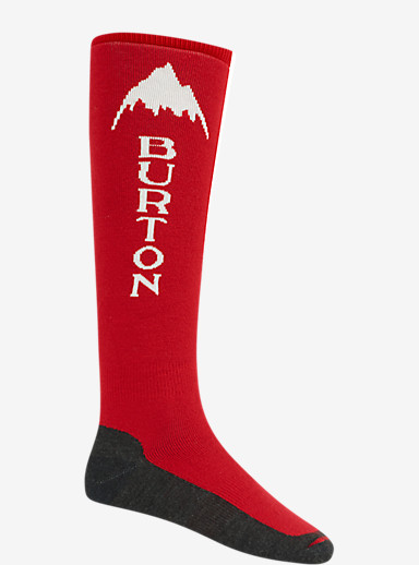 Burton Emblem Snowboard Sock shown in Burner