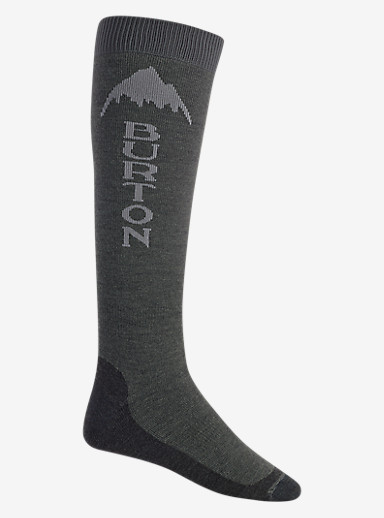 Burton Emblem Sock shown in Faded Heather