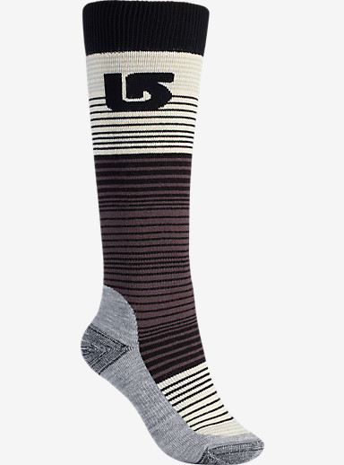Burton Scout Sock shown in True Black