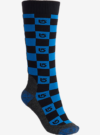 Burton Boys' Emblem Snowboard Sock shown in True Black