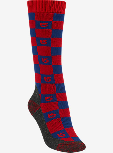 Burton Boys' Emblem Snowboard Sock shown in Burner