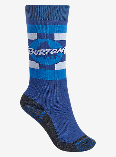 Burton Boys' Emblem Sock shown in Boro