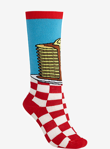 Burton Youth Party Snowboard Sock shown in Double Stacks