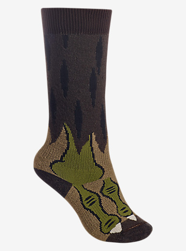 Burton Kids' Party Sock shown in Werewolf