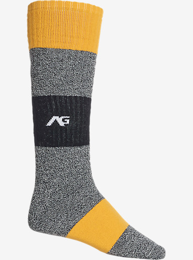Analog Rancid Snowboard Sock shown in Heather Grey