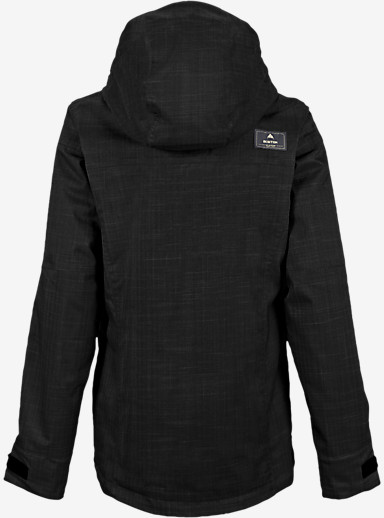 Burton Jet Set Jacket shown in True Black [bluesign® Approved]