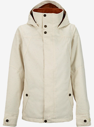 Burton Jet Set Jacket shown in Canvas Color Slub [bluesign® Approved]