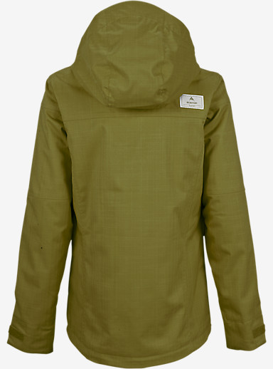 Burton Jet Set Jacket shown in Algae [bluesign® Approved]