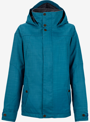Burton Jet Set Jacket shown in Pacific [bluesign® Approved]