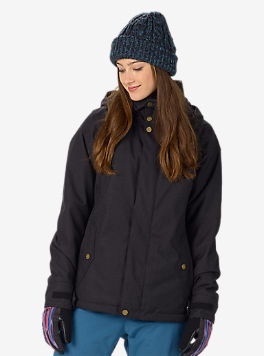 Burton Jet Set Jacket shown in True Black