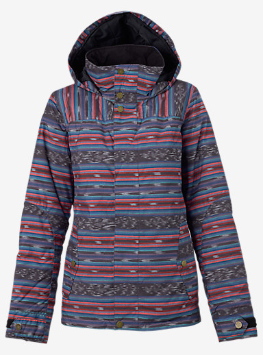 Burton Jet Set Jacket shown in Mala Stripe