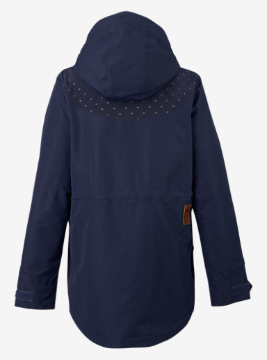 Burton Prowess Jacket shown in Mood Indigo Dot Embossed