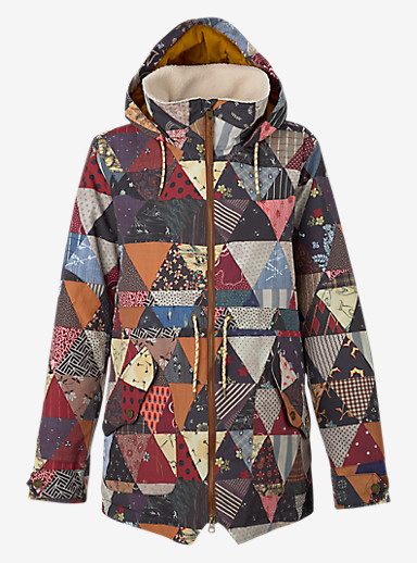 Burton Prowess Jacket shown in Kalidaquilt