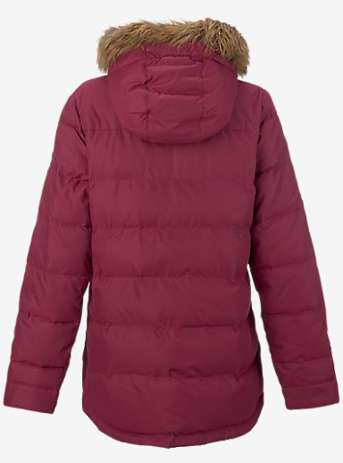 Burton Traverse Jacket shown in Sangria