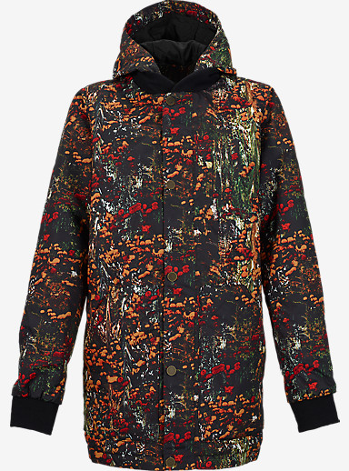 Burton Stella Shirt Jacket shown in Acid Flora [bluesign® Approved]