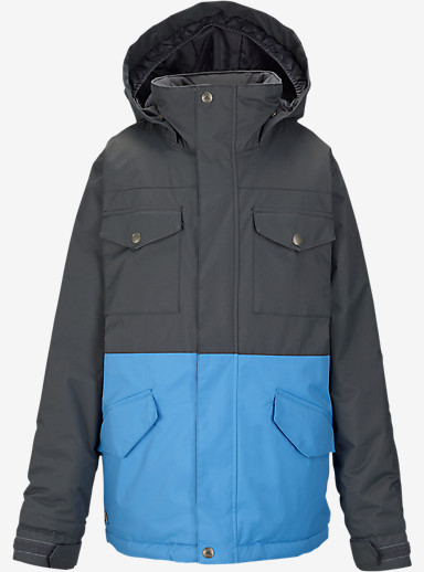 Burton Boys' Fray Jacket shown in Faded / Blue Steel [bluesign® Approved]