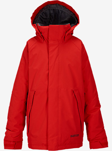 Burton Boys' Amped Jacket shown in Burner