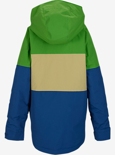 Burton Boys' Symbol Jacket shown in Slime Block [bluesign® Approved]