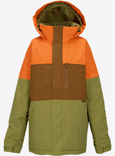 Burton Boys' Symbol Jacket shown in Safety Block [bluesign® Approved]