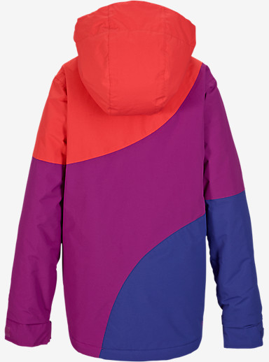 Burton Girls' Hart Jacket shown in Grapeseed Block [bluesign® Approved]