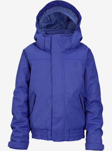 Burton Girls' Minishred Twist Bomber Jacket shown in Sorcerer [bluesign® Approved]