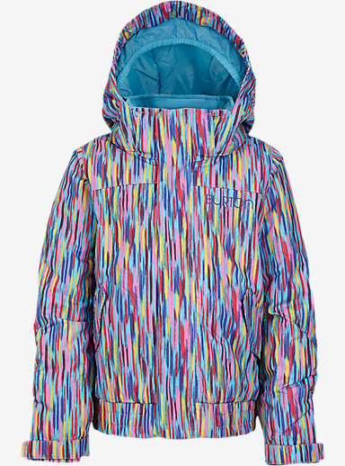 Burton Girls' Minishred Twist Bomber Jacket shown in Taki Taki