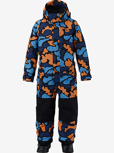 Burton Boys' Minishred Striker One Piece shown in Mini Duck Hunt Camo