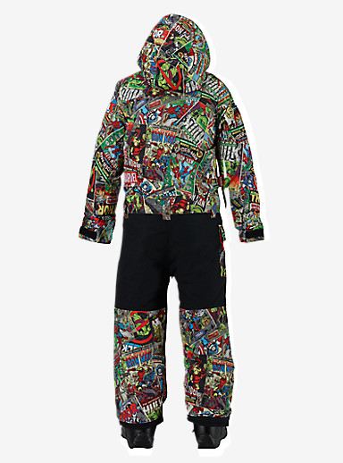 Marvel® x Burton Boys' Minishred Striker One Piece shown in Marvel © 2014 MARVEL