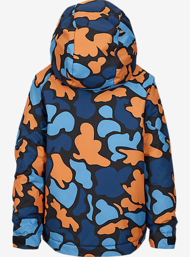 Burton Boys' Minishred Amped Jacket shown in Mini Duck Hunt Camo