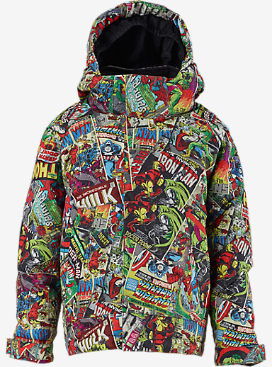 Marvel® x Burton Boys' Minishred Amped Jacket shown in Marvel © 2014 MARVEL