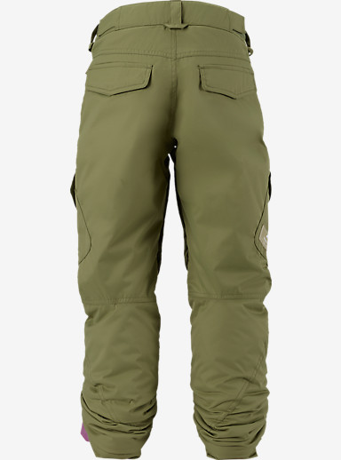 Burton Girls' Elite Cargo Pant shown in Algae [bluesign® Approved]