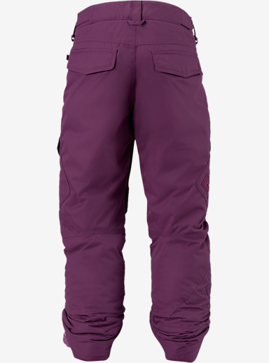 Burton Girls' Elite Cargo Pant shown in Grapeseed [bluesign® Approved]