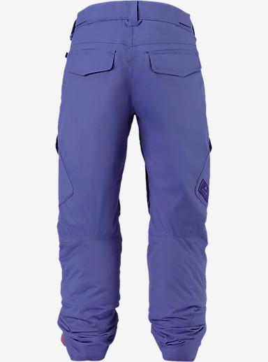 Burton Girls' Elite Cargo Pant shown in Periwinks [bluesign® Approved]
