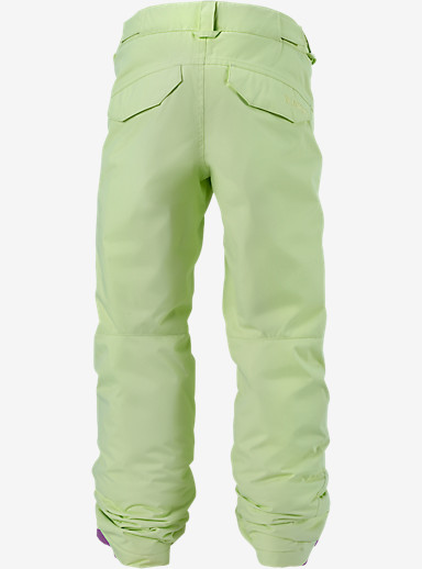 Burton Girls' Sweetart Pant shown in Sunny Lime
