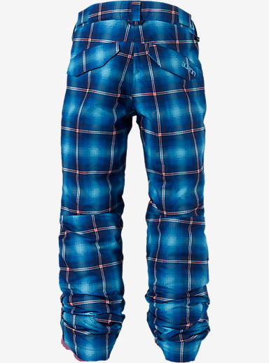 Burton Girls' Sweetart Pant shown in Flynn Plaid