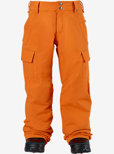 Burton Boys' Exile Cargo Pant shown in Safety [bluesign® Approved]